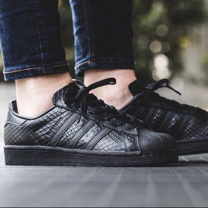 adidas Shoes - Adidas Snakeskin Superstar Sneakers